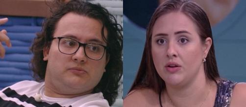 Diego pede que Patrícia não fale sobre o jogo no BBB 18