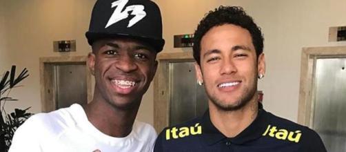 El mensaje de Vinicius para Neymar Jr - mundodeportivo.com