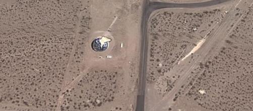 Google Maps localizó una nave extraterrestre en el desierto de ... - peru.com