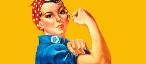 Icono gráfico del feminismo. Public Domain.