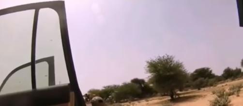 Islamic State releases helmet cam video of ambush in Niger - CBS News This Morning via Pentagon