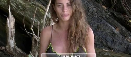 Isola dei famosi, la verità di Chiara Nasti
