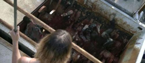 Jadis no décimo episódio da oitava temporada de ''The Walking Dead''