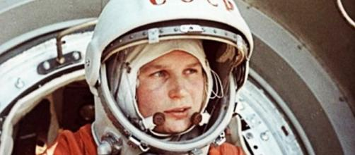 La primera mujer cosmonauta de la historia