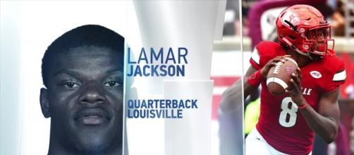 Can Larmar become a star quarterback for the NFL? [image source: American Football Channel/YouTube screenshot]