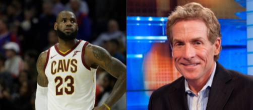 LeBron gets more heat from Skip Bayless - (Image: YouTube/NBA/Fox)