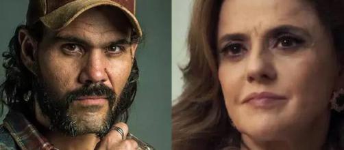 Mariano e Sophia em ''O Outro Lado do Paraíso''