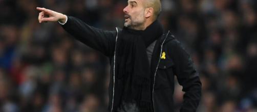 Mi primera impresión fue que no entendía lo que significaba la cinta amarilla, dijo Pep Guardiola del director ejecutivo de la FA, Martin Glenn