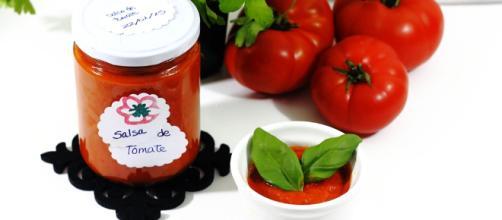 Salsa de tomate rápida y casera