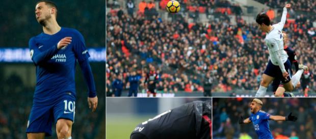 Eden Hazard cortó una figura frustrada, Son Heung-min está en buena forma, Arsenal alcanzó un nuevo mínimo y Riyad Mahrez llamó la atención