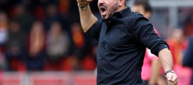 Genaro Gattuso, actual técnico del club rossoneri está haciendo un gran trabajo con una plantilla sin muchas estrellas