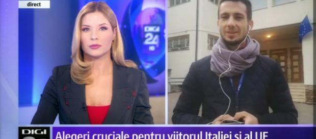 Jurnalist român invitat '' să plece acasă'' de către italieni