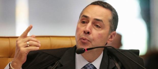 Ministro Luís Roberto Barroso, do STF. (foto reprodução).