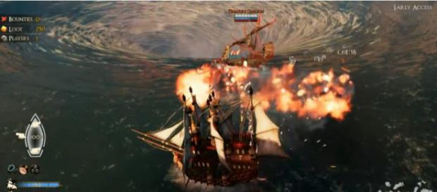 PvP Sea Warfare [Credit: YouTube/Gunpowder Games]