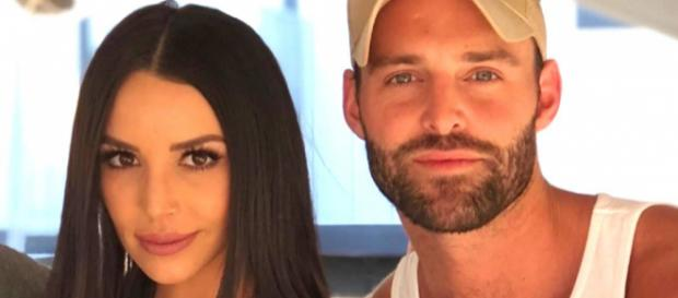 Scheana Marie poses with Robby Hayes. [Photo via Instagram]