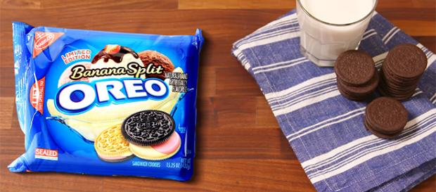 The world-famous Oreos have come a long way over the course of a hundred years. [Image credit: Delish/YouTube]