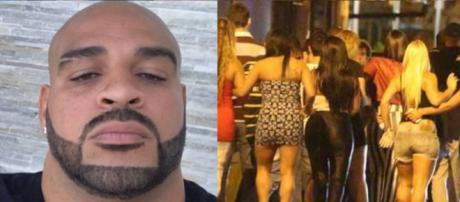Adriano Imperador 'arrasta' 18 prostitutas para festinha 'privê' no Rio
