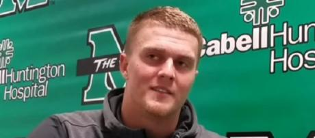 Chase Litton was a three-year starter at Marshall. - [Image Credit: Herd Nation / YouTube screencap]