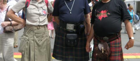 Men wearing skirts or more appropriately kilts! - Flickr