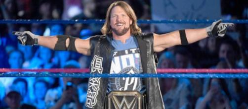 AJ Styles will defend his WWE Championship in a Six-Pack Challenge on Sunday. Image Source: Wikimedia Commons