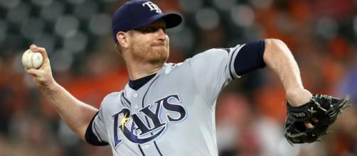 Alex Cobb is still on the market. - [Image via US Sports News / YouTube screencap]