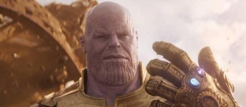 Avengers: Infinity War: Thanos llega a la Tierra con su Guantelete ... - peru.com