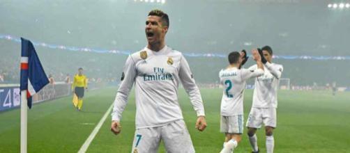 Cristiano Ronaldo está muito feliz com o momento do Real