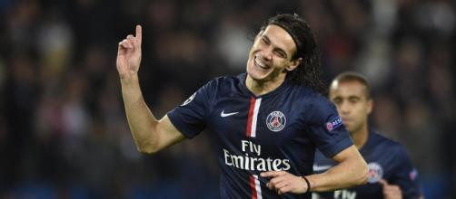 Edinson Cavani - paris saint-germain f.c.