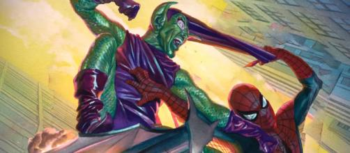 El duende verde llegó a molestar a Spider-Man