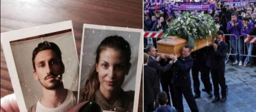 Funerale Davide Astori, un saluto toccante: il papà della compagna si sente male