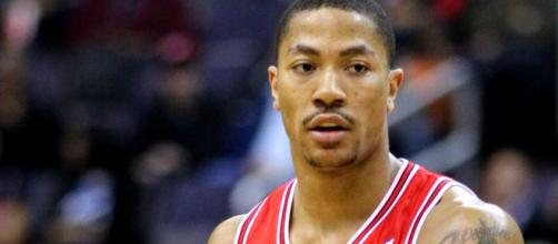 Can Rose Help the Timberwolves? [Image source: Derrick Rose/Wikimedia Commons]