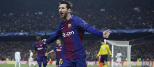 Otro dia de fiesta para Messi en Barsa
