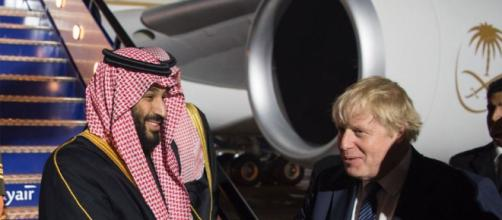 Saudi Crown Prince Mohammad Bin Salman Begins Official UK Visit ... - majalla.com