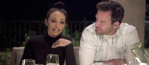 Scheana Marie and Rob are seen on 'Pump Rules.' [Photo via Bravo/YouTube]