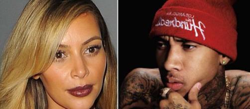 Tyga corrige ortográficamente a Kim Kardashian a través de Instagram