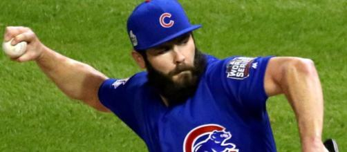 With three weeks until the regular season begins, Jake Arrieta still remains unsigned. Image Source: Flickr | Arturo Pardavila III