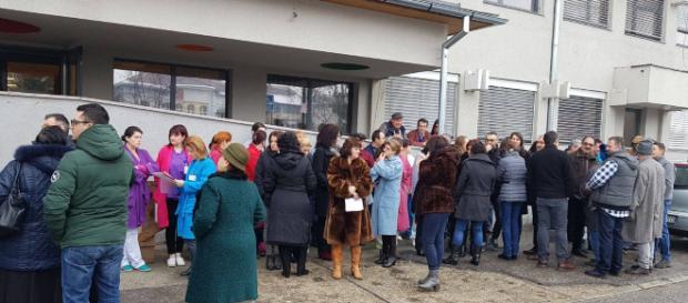 Biologii și chimiștii au protestat ieri în toată țara