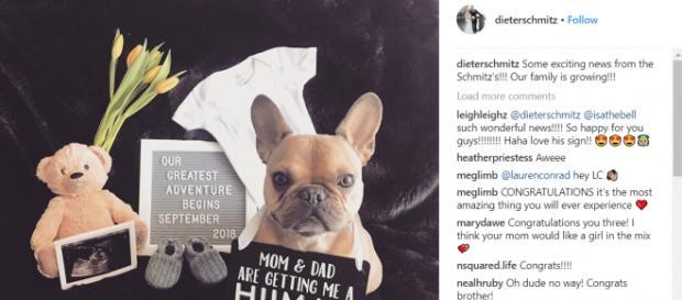 Dieter Schmitz announcement post on Instagram. Taken from Instagram from Dieter Schmitz/public page