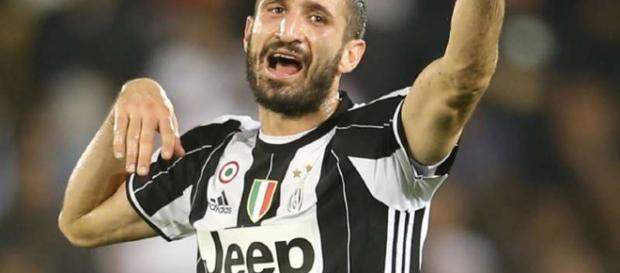 Giorgio Chiellini sabía que la Juventus ganaría