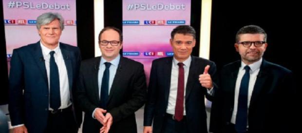Les 4 candidats à la tête du PS s'écharpent sur le thème économique
