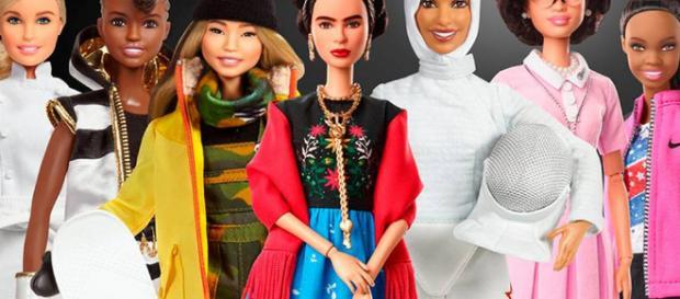 Mattel lanza la línea de muñecas Barbie basada en mujeres reales