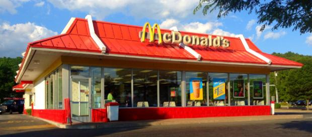 """McDonald's is flipping it's iconic """"M"""" logo to celebrate International Women's Day - Image credit Mike Mozart 