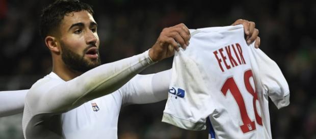 OL: Fekir pas sanctionné pour sa célébration à Saint-Etienne - bfmtv.com