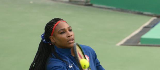 Serena Williams makes winning comebac: (Image via Rwjabour/Wikimedia Commons)