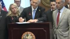 Florida Governor Rick Scott signs gun restriction bill