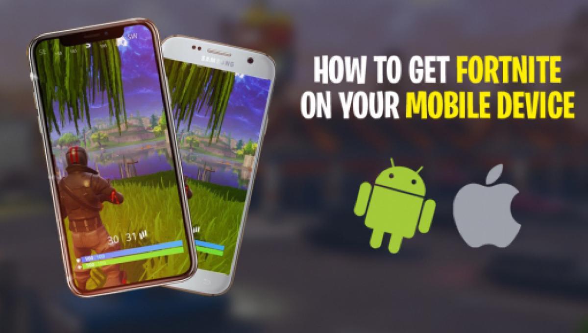 fortnite battle royale mobile android sign up