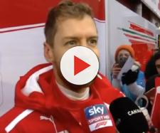 Sebastian Vettel, pilota della Ferrari