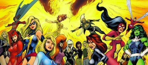 4 Superhéroes femeninas populares del comics
