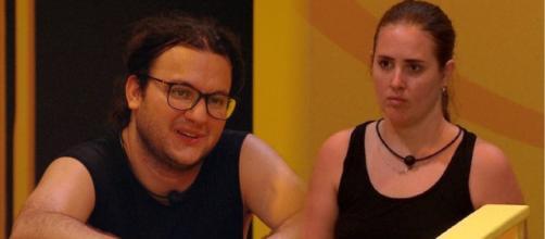 Diego e Patrícia desistiram de ficar com a liderança