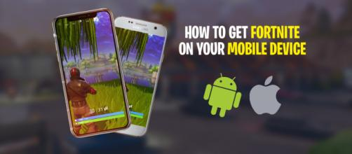 """""""Fortnite Battle Royale"""" will be available for mobile devices soon. Image Credit: Own work"""